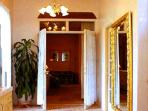 Luxury Bath with massage room, separate bidet/commode room, jacuzzi tub and separate double shower