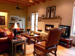 Upscale furniture and furnishings in every room