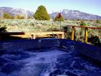 Mountain view private hot tub
