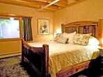 Spacious King master with grand bed