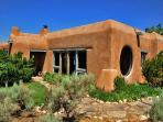 An Ed Sandoval architectural creation of utmost adobe charm interior & exterior