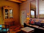 Entry to Den Bedroom & portal with double swing and north mountain prairie views Entry to Den Bedroom & portal with...