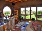 Window wall panoramic mesa sage views