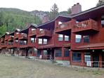 Spring time at Twining alpine chalet style condos