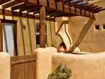 Buena Vista Panoramic Mountain Views Outdoor Kiva Fireplace