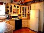 Upscale kitchen with all major appliances, cookware & tableware