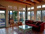Sun room surrounded by 'Mother Nature's' high desert mountain mesa views