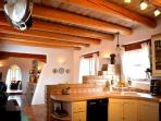 Great southwest Taos artist custom designed and hand built kitchen counters