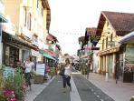 La rue principale de Capbreton