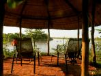Summerhut with stunning view over the Luangwa River