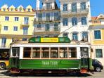 The 3 Sisters Lisbon :: surroundings - Tram