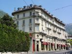 Belle Epoque building. My apartment on 4th floor (with elevator) with continuous balconies
