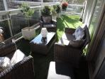 Fantastic wrap-around terrace
