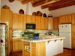 Open Kitchen with preparation / serving island