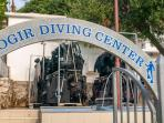 This diving centre is only a 12 minute walk or so from the apartment :)