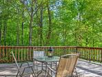You'll love spending your downtime on the wraparound private deck.