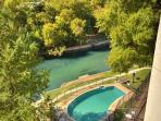 Inverness Pool and the Comal River