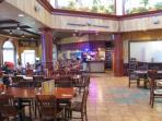 On-site amenities: Banana Jack's bar and restaurant