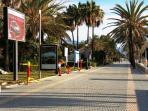 Parcours de santé-Promenade Maritime devant la Résidence.