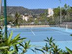 Terrains de tennis à 5 min.