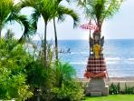 50 meter beachfront offering direct beach access and magnificent ocean views