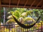 hammock on porch