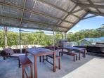 Outdoor Kitchen and Social Area
