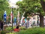 Park opposite Midtown Roppongi