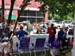 Croaker Fest and July Parade
