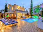 Villa Diana. Your own private space in the sun. Relax by the pool each evening in the gazebo!
