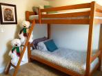 Bedroom 4 with bunk beds.