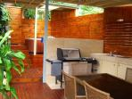 BBQ and Spa Area
