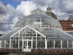 The People's Palace on Glasgow Green (café, museum, botanical garden)