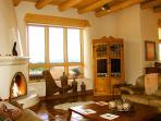 Viga ceilings thorughout and view windows everywhere