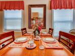Dine with your family at this lovely table!