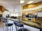 Fully Stocked Kitchen Area for Cooking Great Meals
