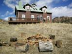 FIRE PIT IS ALLOWED TO BE USED ONLY WHEN THERE IS NO FIRE RESTRICTIONS. PLEASE INQUIRE FIRST