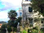 Far Out Inn is located in this historic villa