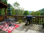 Enjoy grilling with a view of Blackberry Valley.
