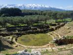 Ancient Theatre of Aptera (10-15 minute walk)