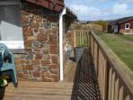 View of right side decking.