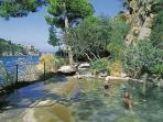From Casa Romano you can easily get to the nearby thermal parks