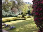 The gardens at Castle are particularly impressive