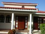 Front of villa in Crown Villa Estate area