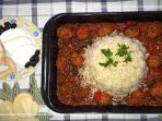 We offer to all of our visitors Cretan Traditional meal with fresh materials from our farm!!