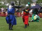 The annual Medieval Fayre in Sedgefield