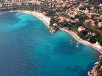 Plage du Buse: 5 minutes drive away ! One of the best on the Riviera ...