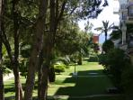 Sea-view from the manicured gardens and master bedroom
