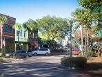 Centre Street downtown Fernandina Beach