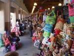 Our straw market at Down Town Nassau a five minute bus ride away
